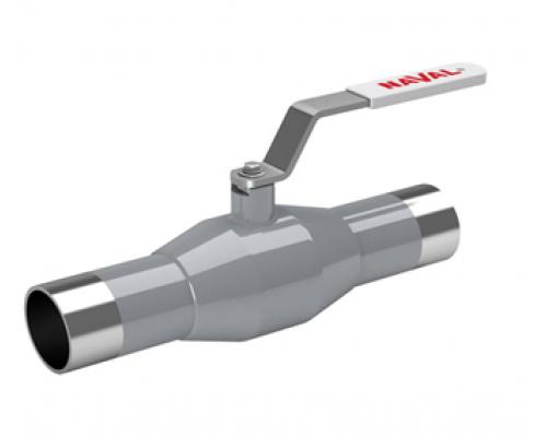 Кран шаровый Naval тип 286 4ХХ нержавеющий под приварку Ду 10-250, Ру 40/25