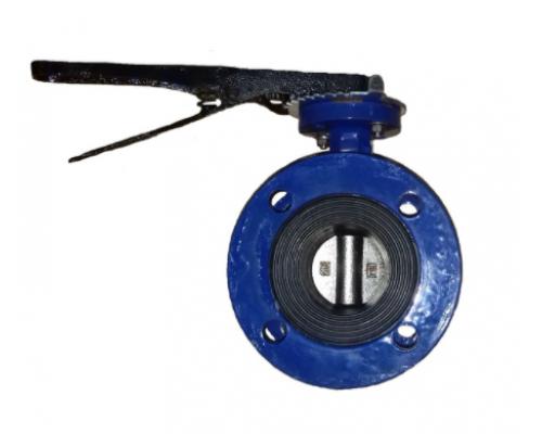 Затвор дисковый поворотный ABRA BUV-FL226 с рукояткой Ду 50-250 Ру 10/16 бар