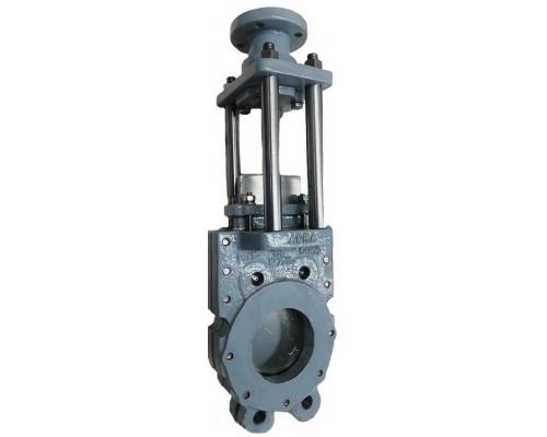 Задвижка шиберная ABRA-KV-03 Ду 50-600, Ру 10/16 c ISO фланцем под привод