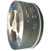 Клапан обратный межфланцевый нержавеющий Абрадокс ABRA-D71 Ду 15-300 Ру 25