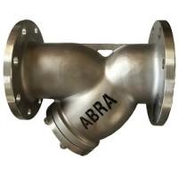 Фильтр сетчатый фланцевый нержавеющий Абрадокс YF-3000-SS316 Ду 15-300 Ру 16