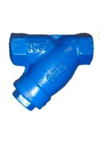 Фильтр сетчатый резьбовой чугунный Абрадокс YS-3016-D ФММ Ду 15-50 Ру 16 с магнитной вставкой