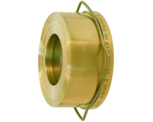 Клапан обратный межфланцевый латунный RK-41 Ду 15-200 Ру 16
