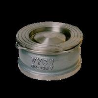 Клапан обратный межфланцевый чугунный VYC 172-04 Ду 125-300 Ру 16