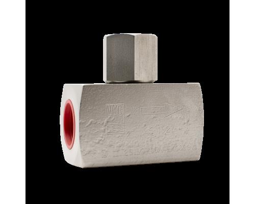 Клапан обратный резьбовой стальной VYC 179-02 Ду 8-50 Ру 250