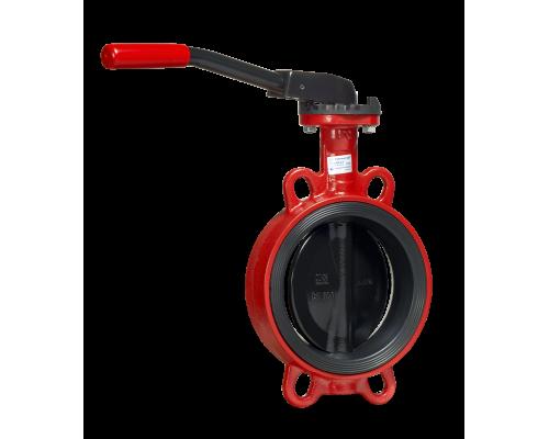 Затвор дисковый поворотный  Гранвэл тип ЗПНС с рукояткой Ду 32-200, Ру  16 бар