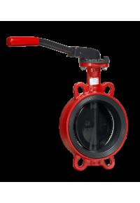 Затвор дисковый поворотный  Гранвэл тип ЗПТС с рукояткой Ду 32-200, Ру  16 бар