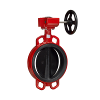 Затвор дисковый поворотный  Гранвэл тип ЗПВС с редуктором Ду 32-1200, Ру  10/16 бар