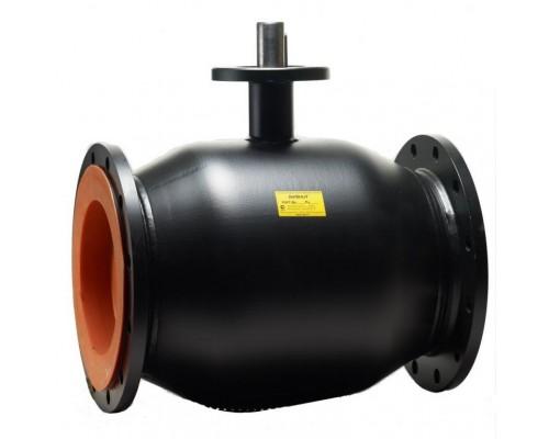 Кран шаровый Бивал тип КШГ 12 с ИСО-фланцем газовый фланцевый Ду 125-200 Ру 16