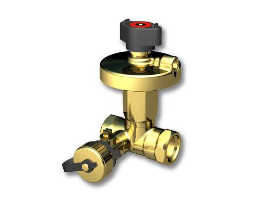 Клапан балансировочный Broen DP Ду 15-50, Ру 25 бар