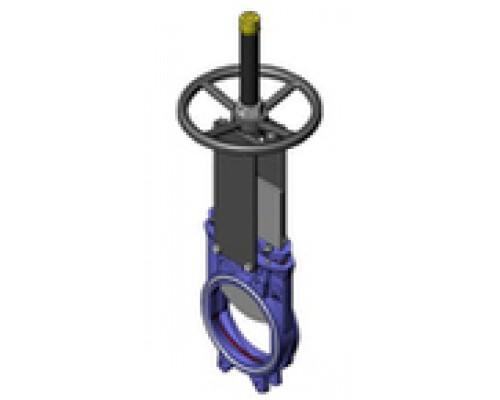 Затвор шиберный CMO тип AB двусторонний Ду 50-600, Ру 10 бар