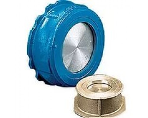 Клапан обратный межфланцевый латунь/чугун Danfoss NVD 802 Ду 32-200 Ру 16