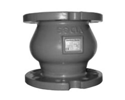 Клапан обратный фланцевый чугунный Danfoss NVD 462 Ду 50-200 Ру 16/10
