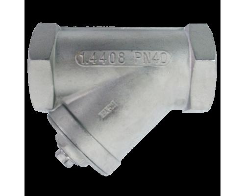 Фильтр сетчатый резьбовой нержавеющий Danfoss Y666 Ду 8-50 Ру 40