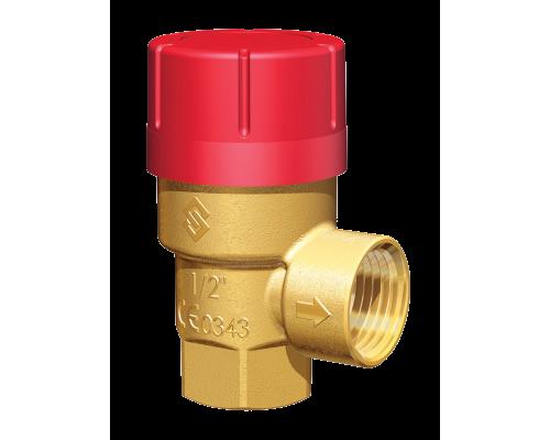 Клапан предохранительный Prescor резьбовой латунный пропоциональный Ру 10