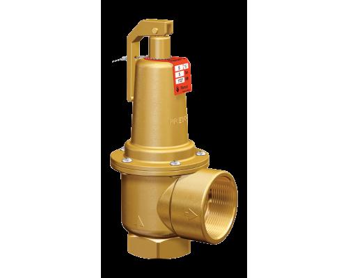 Клапан предохранительный Prescor S резьбовой латунный  Ру 16