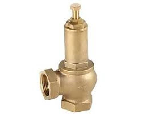 Клапан предохранительный Genebre 3190 резьбовой  латунный пропорциональный Ру 16