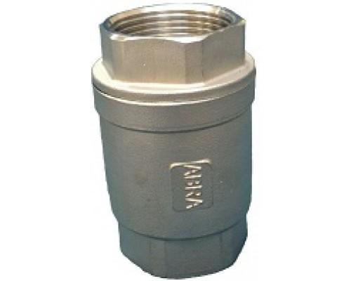 Клапан обратный резьбовой нержавеющий  Абрадокс ABRA-D12 Ду 15-50 Ру 40