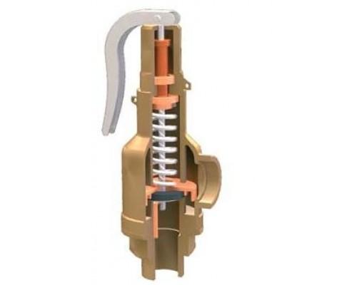 Клапан предохранительный Прегрн КПП 095-04 резьбовой нержавеющий пропоциональный Ру 25