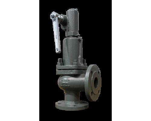 Клапан предохранительный Прегрн КПП 096-01 фланцевый чугунный пропоциональный Ру 16