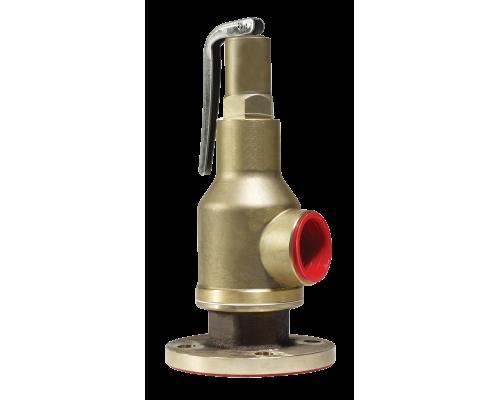 Клапан предохранительный Прегрн КПП 097-05 фланец/резьба латунный пропоциональный Ру 16