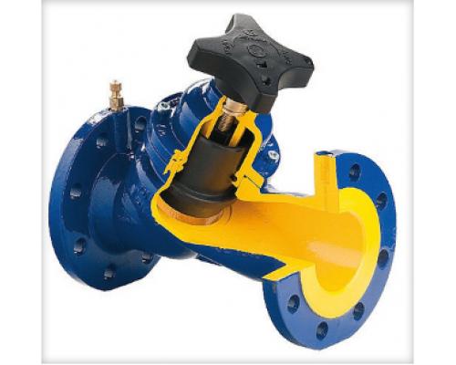 Клапан балансировочный Zetkama тип 447  Ду 40-300, Ру  16 бар