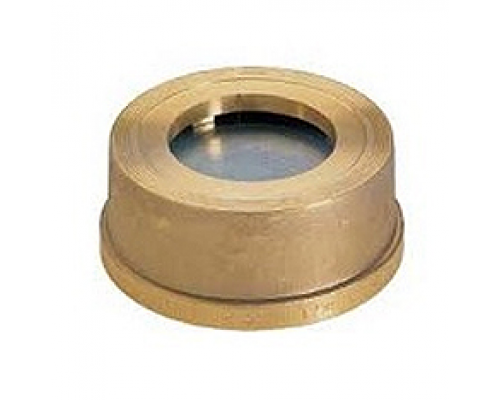 Клапан обратный межфланцвый латунный Zetkama V275-H Ду 15-100 Ру 16