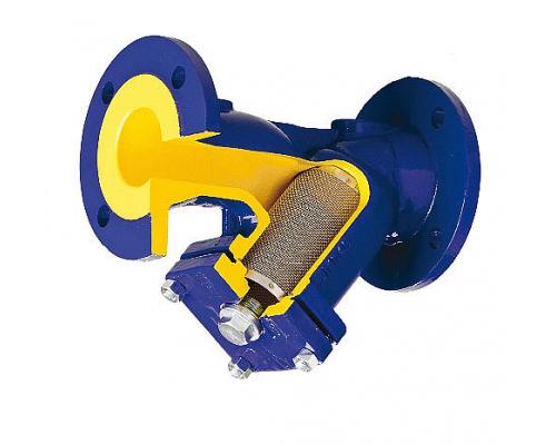 Фильтр сетчатый фланцевый чугунный Zetkama V821M Ду 15-400 Ру 16 с  магнитной вставкой