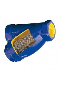 Фильтр сетчатый резьбовой чугунный Zetkama V823 Ду 10-80 Ру 16